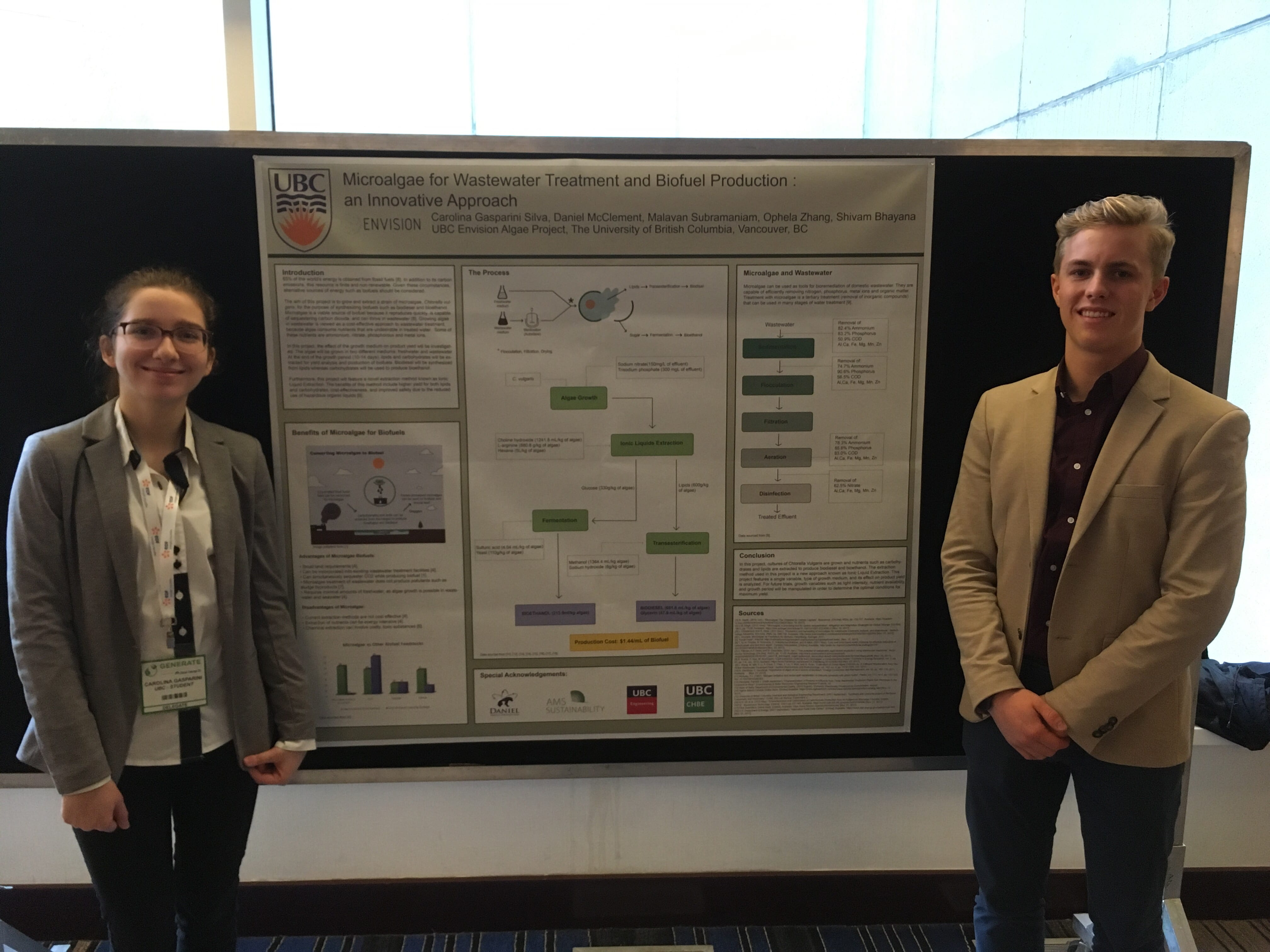 Envision teams present at CleanEnergyBC's Generate conference